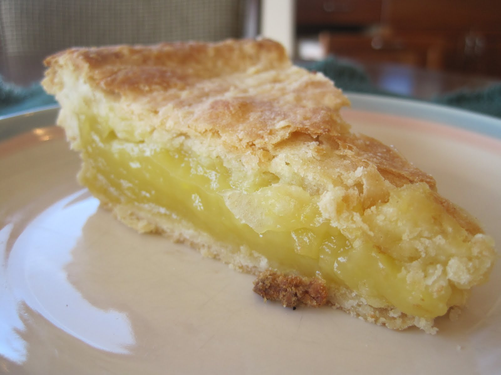 Over a year ago, my father suggested I make a double-crust lemon pie ...