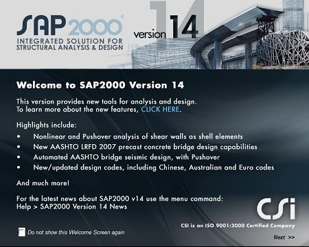 CSI SAP2000 v14.2.2-REDT
