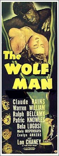Locandina del film 'The Wolf Man', 1941