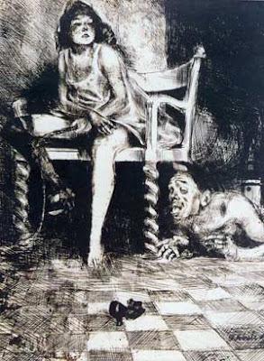 Beast, di Bruno Schulz da Xiega Balwochwalcza, 1920-1922