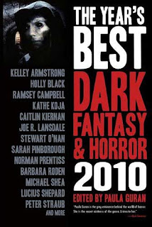The Year's Best Dark Fantasy and Horror, 2010, copertina