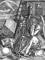 Melancolia I (1514) di Albrecht Dürer
