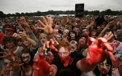 raduno zombie Inghilterra 2009 foto