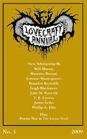 Lovecraft Annual No. 3 cover