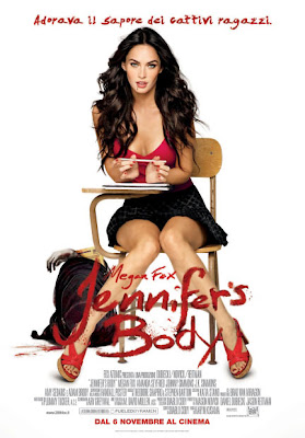 Jennifer's Body poster italiano