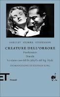 Creature dell'orrore Einaudi copertina