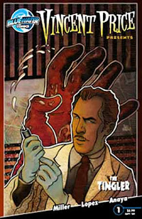 Vincent Price Presents. Special: The Tingler #1 cover
