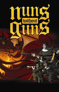 Nuns Without Guns comics cover copertina