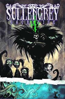 Sullen Grey Sacrifice comics fumetto cover copertina