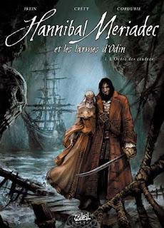 Hannibal Meriadec et les larmes d'Odin fumetto copertina
