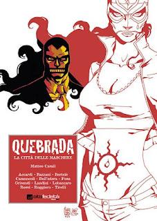 Quebrada fumetto copertina