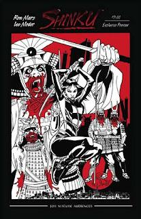 Shinku 01 comic cover fumettocopertina
