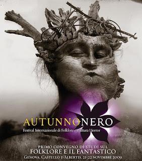 Autunnonero 2009 Convegno Fantastico a Genova