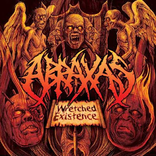Wretched Existence Abraxas CD cover copertina