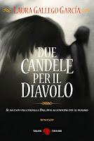 Due candele per il diavolo Laura Gallego Garcìa Salani copertina