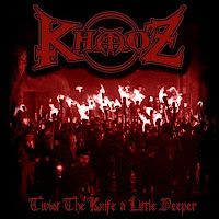 KhaoZ Twist the Knife a Little Deeper CD cover