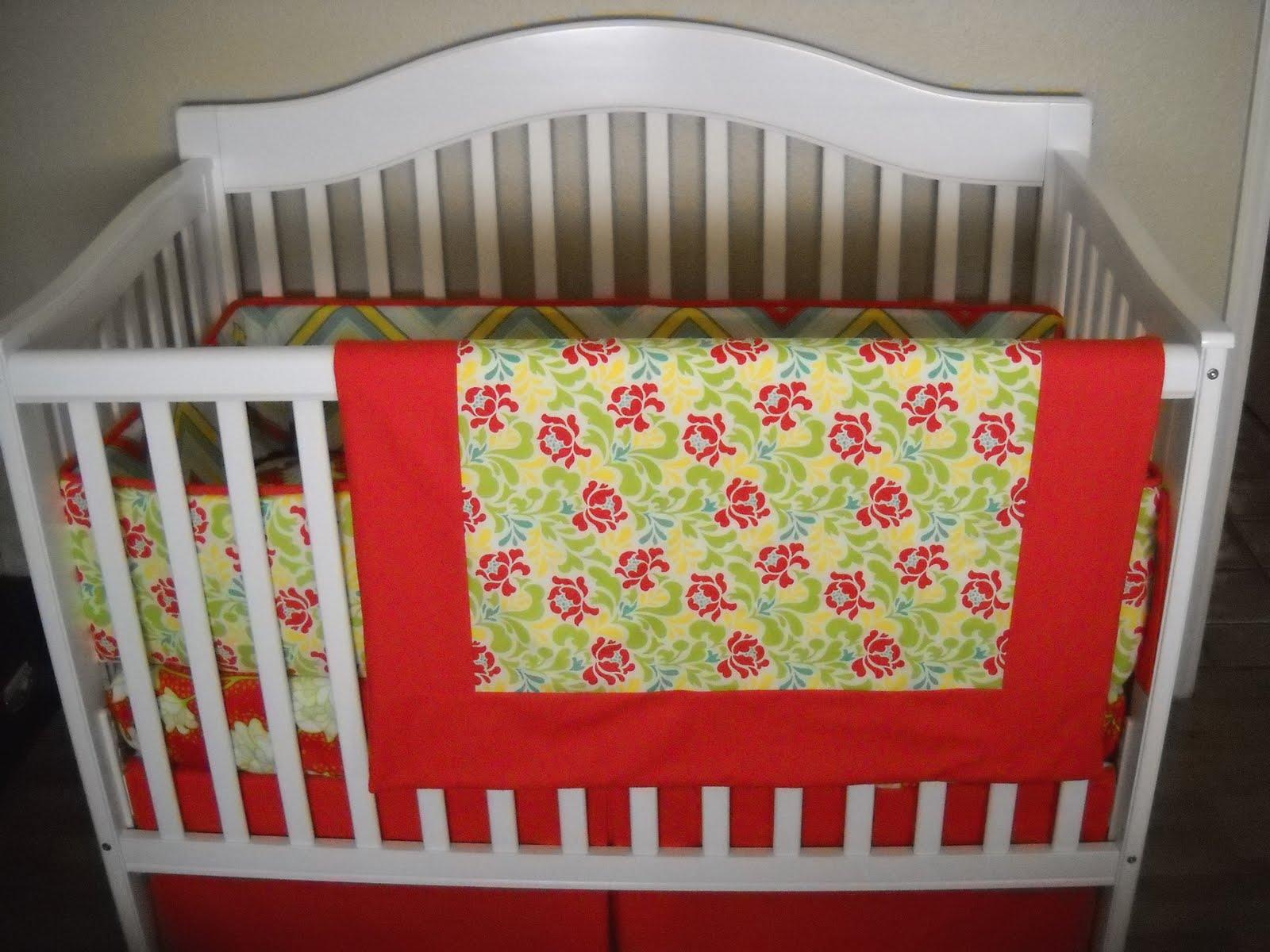 custom made crib bedding