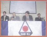 Dr. Marchisiello, Prof. Aceti, Dr. Marcelo e Prof. Fabio na Palestra sobre Crimes na Internet - OAB