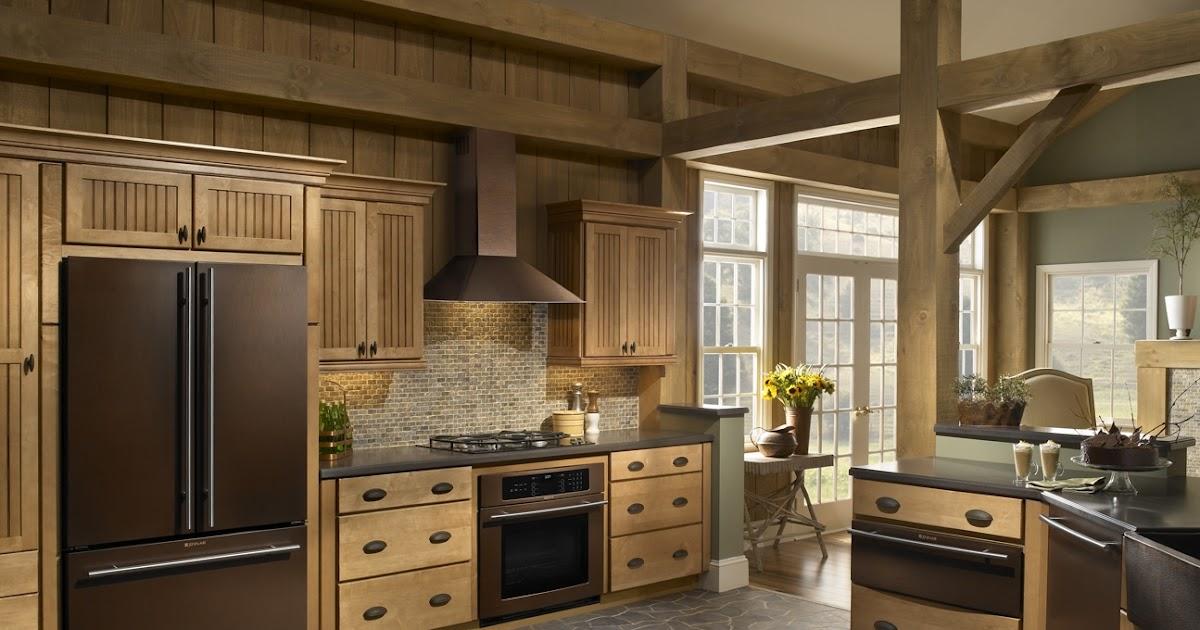 Bronze Finish Kitchen Appliances
