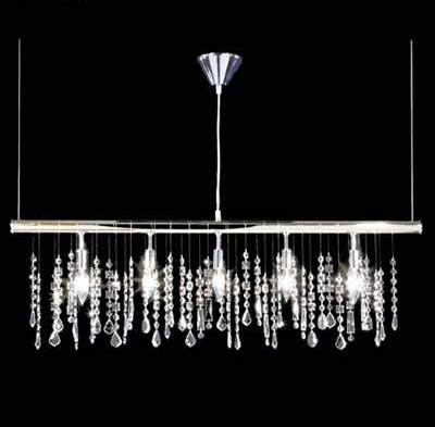 Light Crystal Kitchen Island Pendant By Warehouse Of Tif