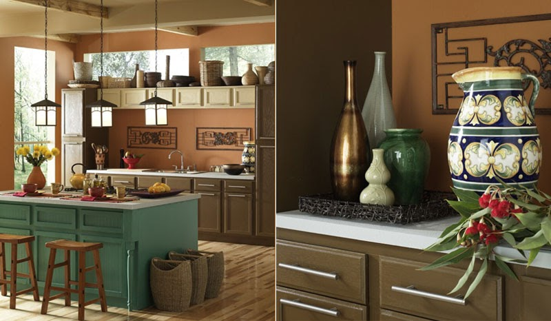 Kitchen Color Schemes With Off White Cabinets