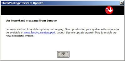 lenovo system update