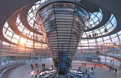 German Reichstag parliament building in Berlin