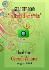 Senangnya dapat Award