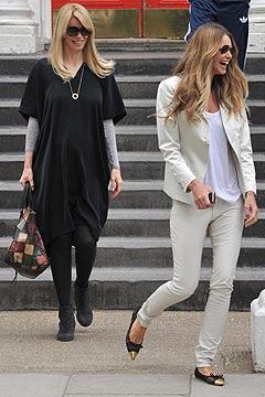 Elle Macpherson & Claudia Schiffer