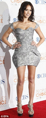 Jessica Alba At People Choice's Awards