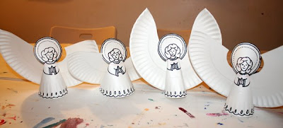 Filth Wizardry Paper Plate Angels