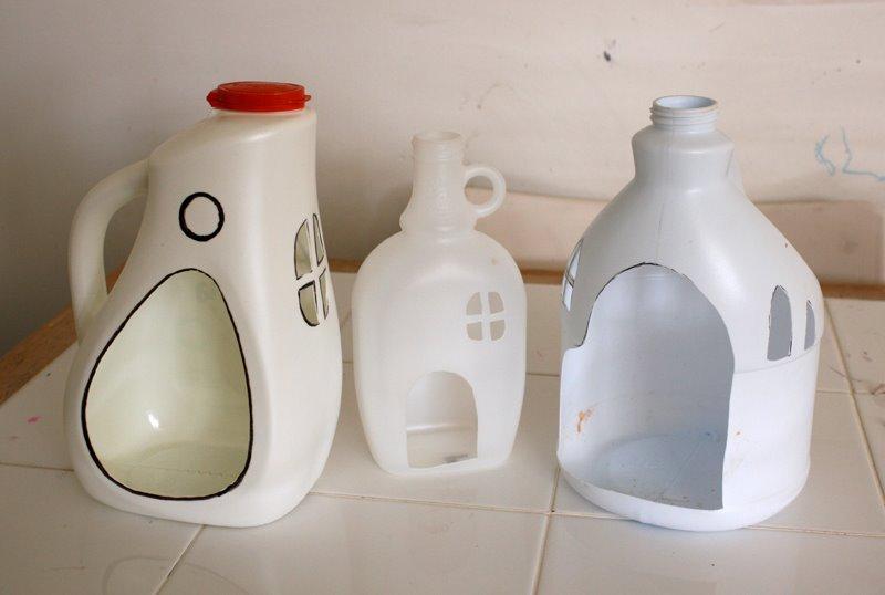 Домики из пластики своими руками