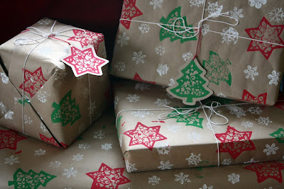 Image result for homemade wrapping paper