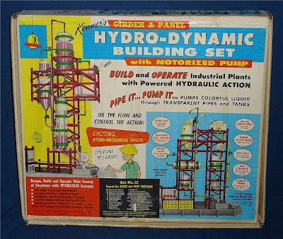 Kenner Hydrodynamic Building Set