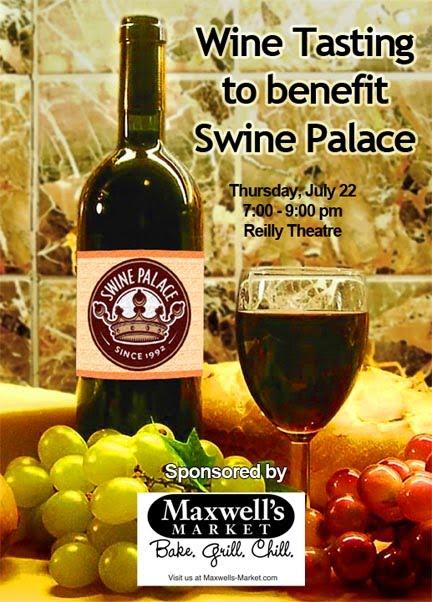 Bite And Booze Wine Tasting To Benefit Swine Palace