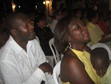 Walter A. Caicedo, Mary Luz y Moises Zuñiga