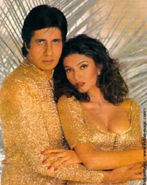 Hot Sushmita in arms of Amitabh