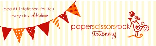 paper scissors rock stationery