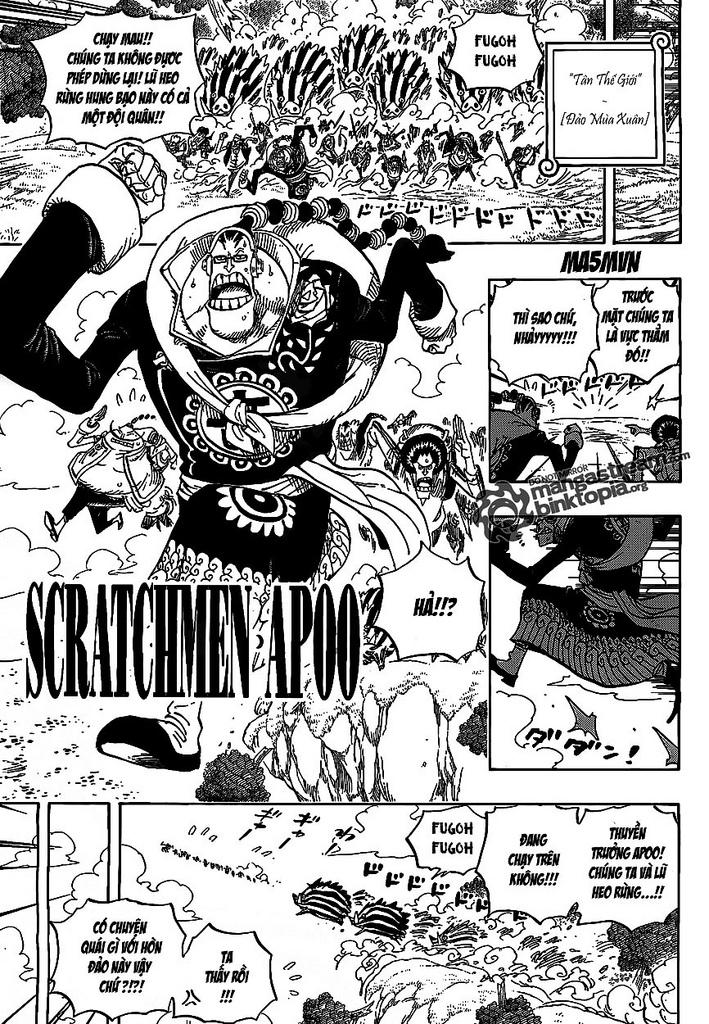 One Piece Chap 595 - truyen One Piece online