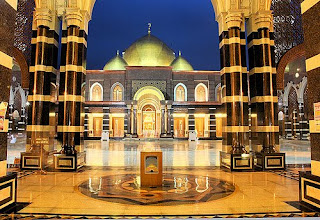 Amazing Architectural Design of Golden Dome Mosque : Masjid Kubah Emas