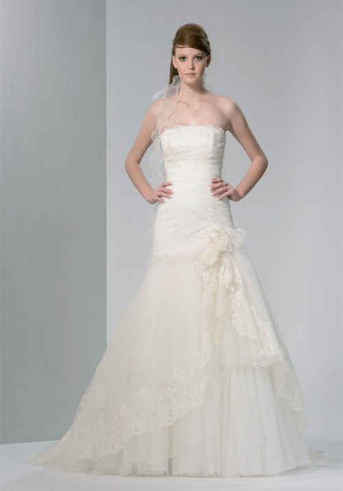 Modern and Beautiful Wedding Dress
