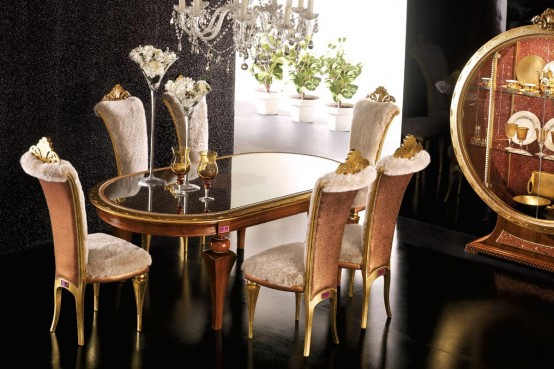 of Modern Dining Room Set
