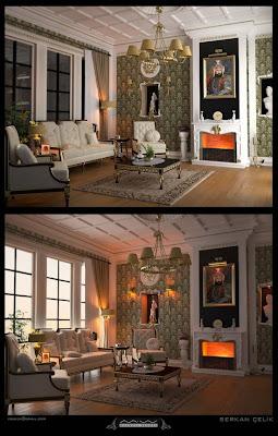 Classic victorian Interior