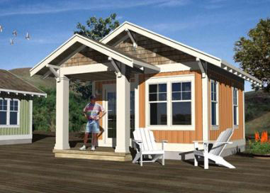 Contemporary Home Plans of 2012: Small Cottage House Plans