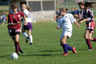 Miller hat trick leads Crusaders to 7-0 JV soccer win over Orono