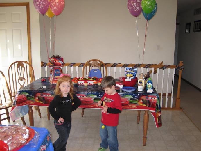 Jack's 3rd Birthday