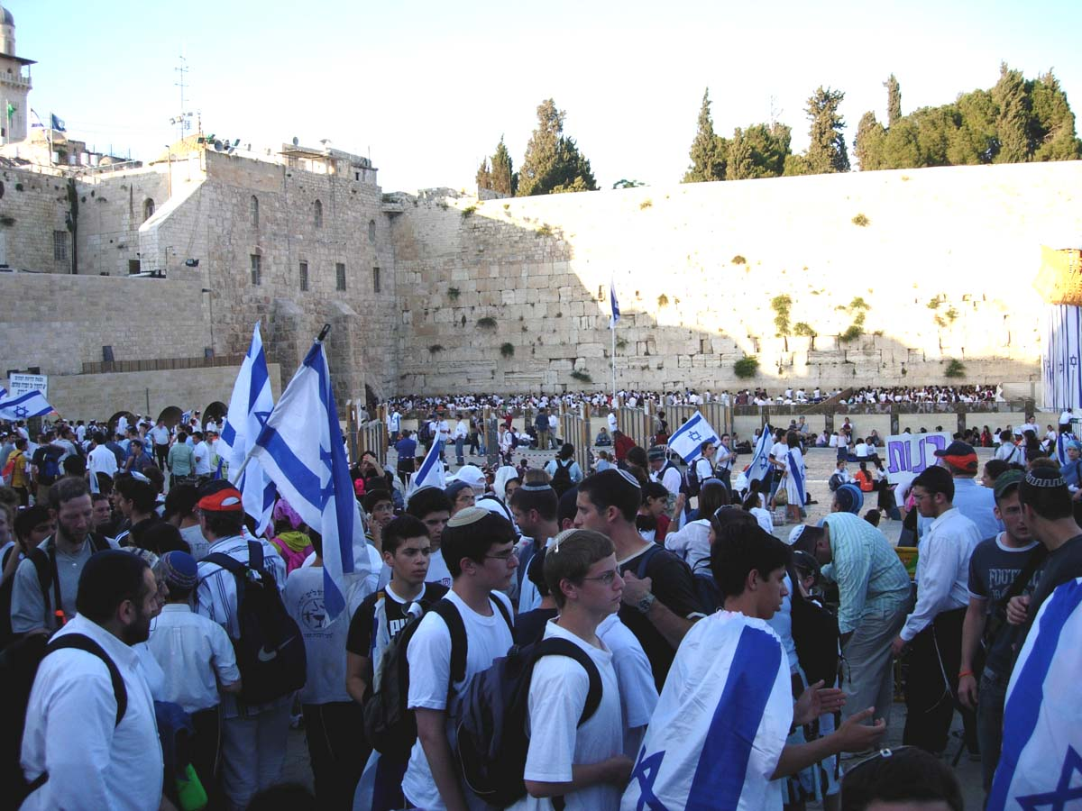"""waiting for jerusalem """"and being assembled together with them, commanded them that they should not depart from jerusalem, but wait for the promise of the father."""