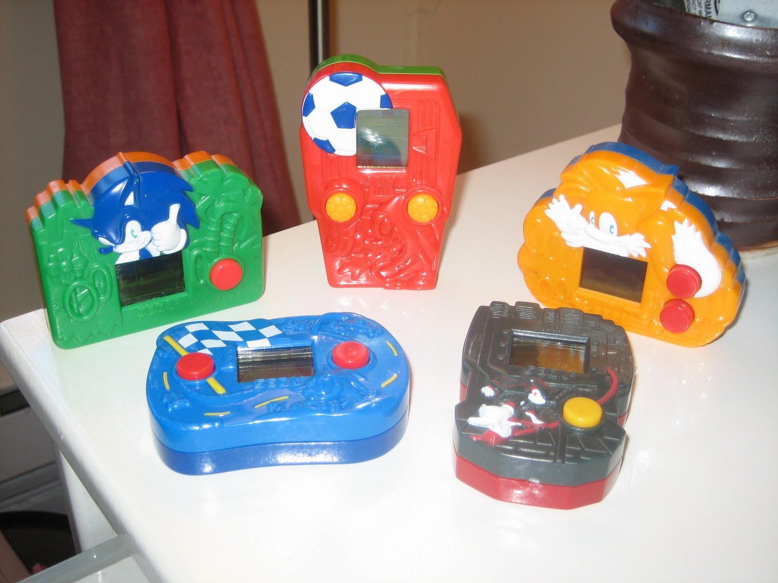 Zo waren er ineens videogames van Sonic in je Happy Meal!