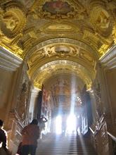 """Venezia-Palazzo Ducale; """"Scala d'oro"""""""