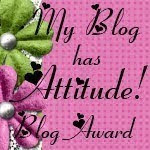 My Blog With Attutide Award